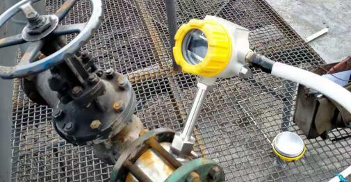 靶式流量计装车装置应用