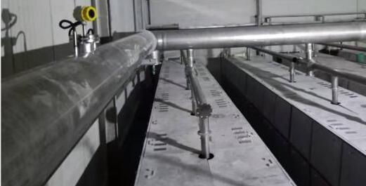 靶式流量计烟气管线应用